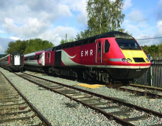 Storage for East Midlands Railways High Speed Trains at Barrow Hill