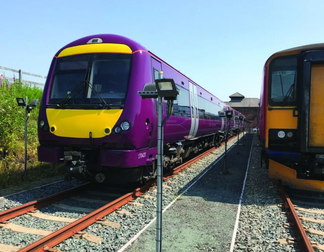 Warm and Cold Train Storage with 24/7 access to the GB mainline network