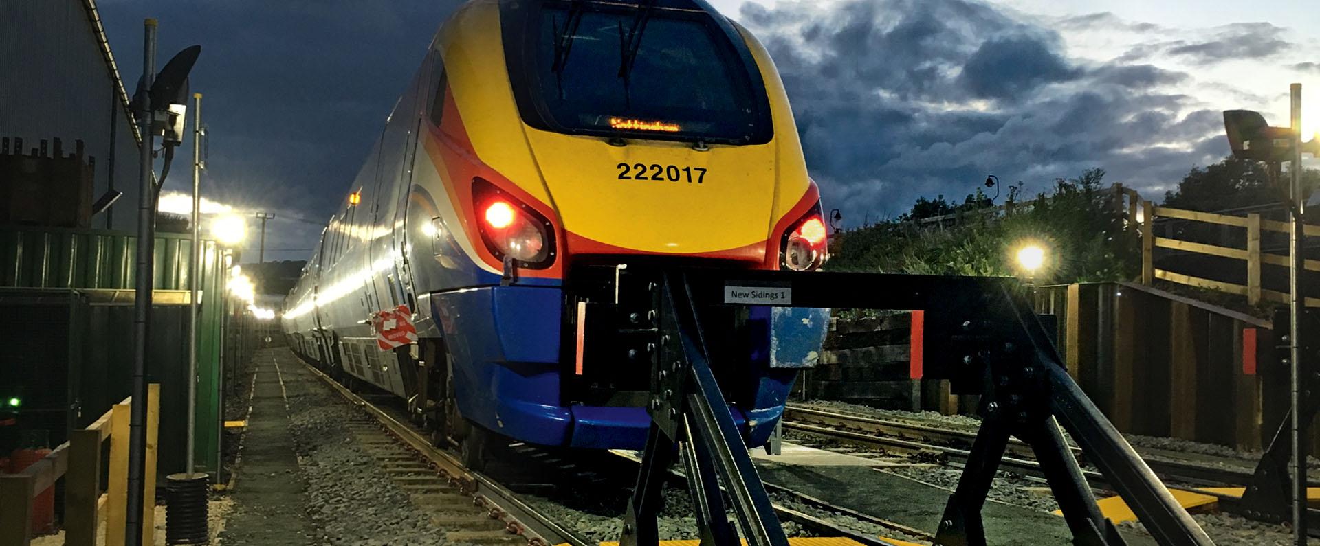 Barrow Hill Train and Train Track Slider