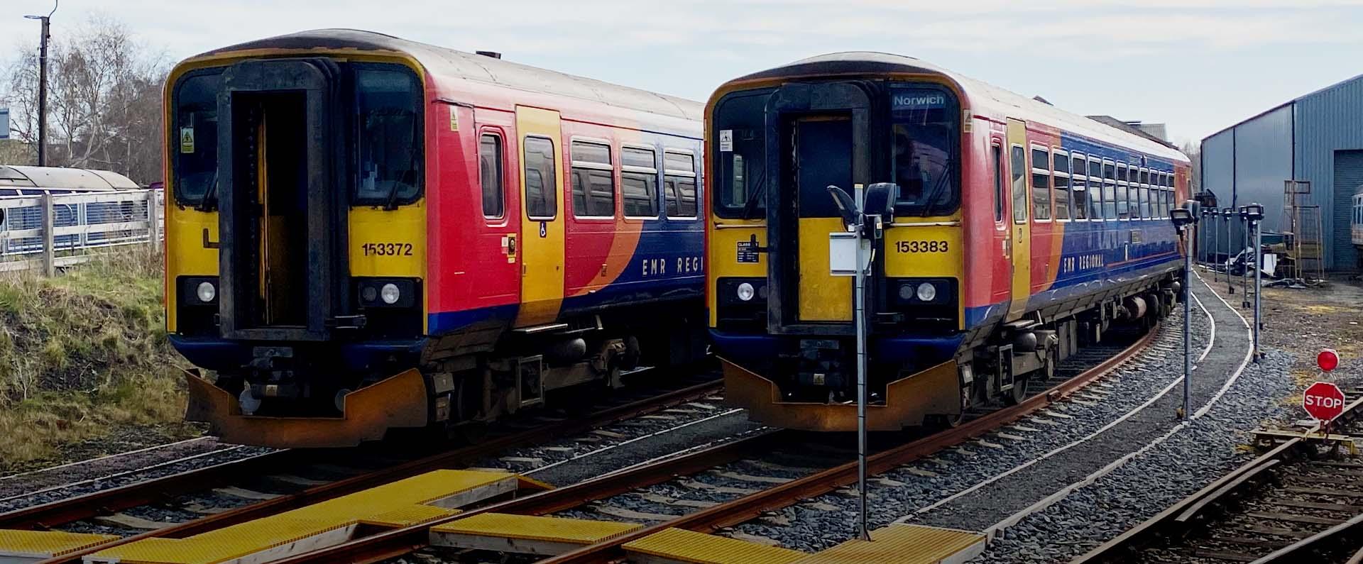 Barrow Hill - Storage for Mainline Rail Vehicles